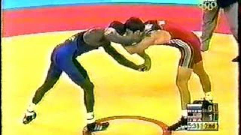 ОИ 2004 66кг Махач Муртазалиев (RUS) vs Jamil Kelly