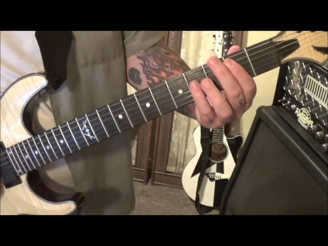 Cinderella - Night Songs - Guitar Lesson by Mike Gross(played w an Iphone 6s)