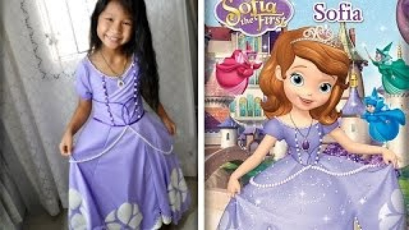 Sofia 1st Dress costume by Pim Mom