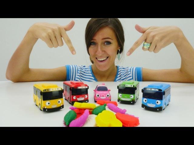 Autobuses Tayo español. Guardería Infantil el Segundo Turno