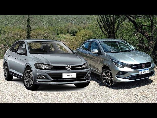 Fiat Cronos x VW Virtus: comparativo - consumo, desempenho e preços - www.car.blog.br