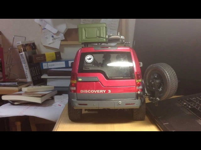 Custom Land Rover Discovery 3 Sway Type Spare tire (RC)