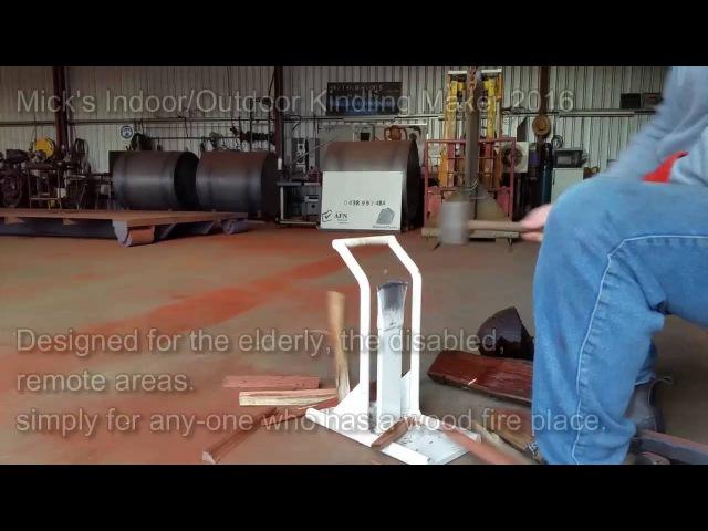 Micks IndoorOutdoor kindling splitter- Specialized Tool
