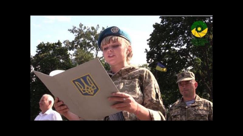 РЕПОРТАЖ. Присяга 2017 офіцерів запасу Військової академії. Одеса.