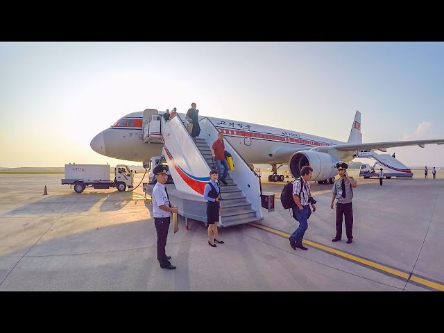 Air Koryo Tupolev TU 204-100B Pyongyang (New Terminal) FNJ to Beijing PEK