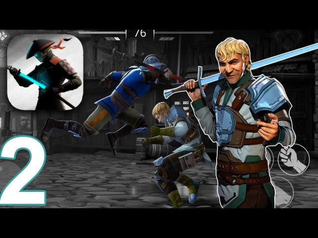 SHADOW FIGHT 3 Gameplay Walkthrough Part 2 - Chapter 1 Gizmo Fight (iOS Android)