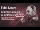 Fidel Castro, blanco de atentados en más de 600 oportunidades