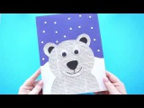 Awesome Newspaper Polar Bear Craft for Kids