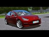 City Car Driving 1.5.5 - Tesla Model 3 2018 by TJ  + Download LINK  1080p &amp G27