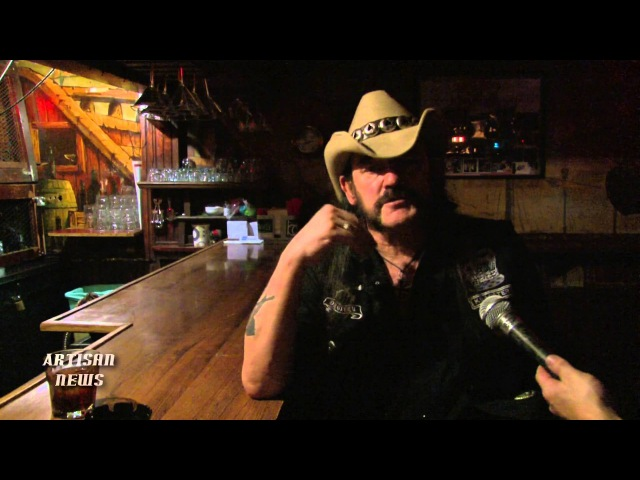MOTORHEAD LEMMY LOST INTERVIEW 2013 - IN MEMORY