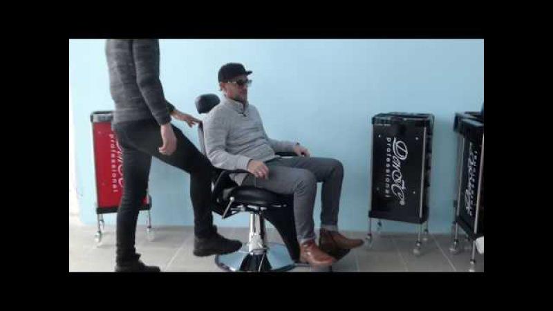 Кресло парикмахерское мужское для Барбершопа Barber ДенІС professional А8039