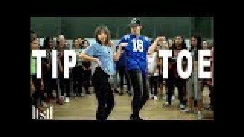 TIP TOE - Jason Derulo ft French Montana Dance | Matt Steffanina ft Bailey