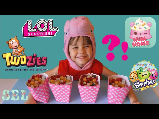 СЮРПРИЗЫ ЛОЛ Шопкинс Тузис Ням Нямс LOL Surprise Num Noms Shopkins Twozies