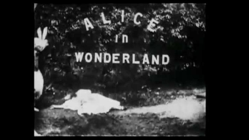 Алиса в Стране чудес / Alice in Wonderland (1903) / Сесиль Хепуорт, Перси Стоу / Cecil Hepworth, Percy Stow / Великобритания.