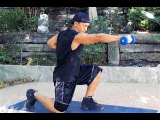 Full Body Workout with Weights - Intense Dumbbell Exercises