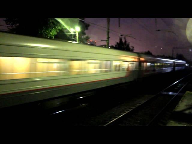 Последние широтные поезда в 2013 году на Савеловском направлении.