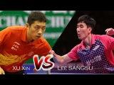 Table Tennis  Lee Sangsu Vs Xu Xin  German Open 2017  Quarter Finals