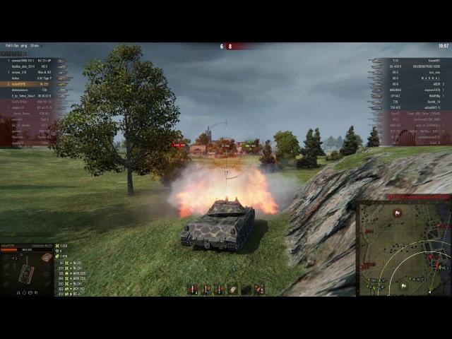 Spähpanzer Ru 251, Рыбацкая бухта, Стандартный бой