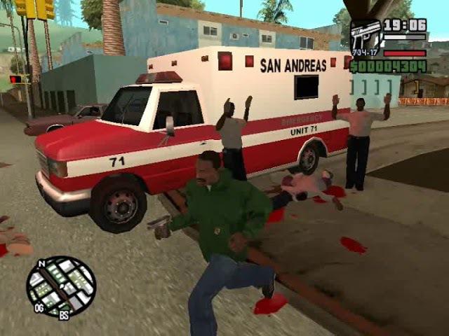 GTA: San Andreas - Walkthrough. Mission 15 - Бегушии пес (8,02% Complete)