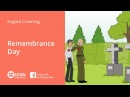 Learn English Listening | Beginner: Lesson 14. Remembrance Day