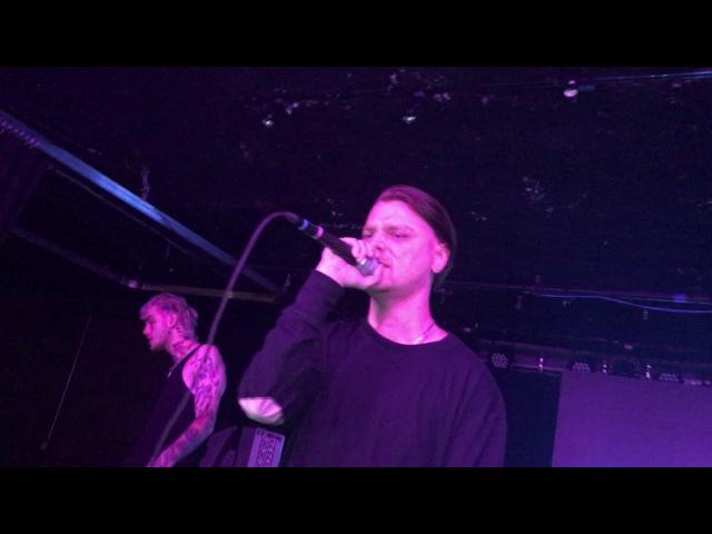 Lil Peep - 'Girls ft. Horsehead' (Live in Atlanta @ The Loft 11/07/17) w/ lyrics