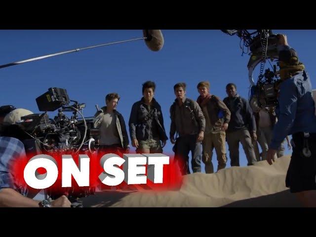 Maze Runner: The Scorch Trials: Behind the Scenes Movie Broll - Dylan O'Brien