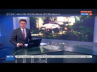 Новости на «Россия 24» • Сезон • Ураган в Псковской и Тверской областях: есть жертвы и разрушения