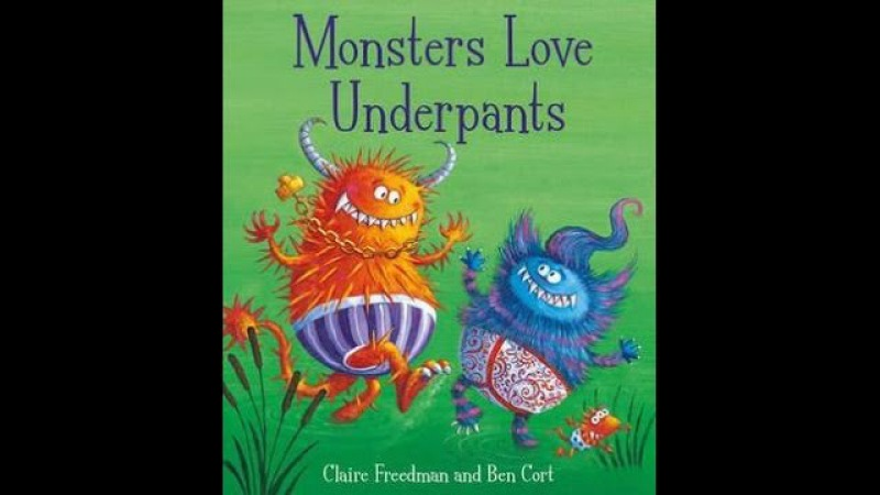 Monsters Love Underpants by Claire Freedman and Ben Cort Real Aloud