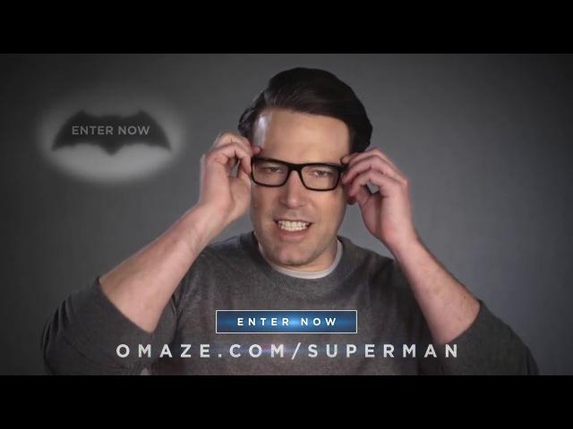 Ben Affleck, Henry Cavill Jesse Eisenberg take shots at each other Omaze mk BY Omaze