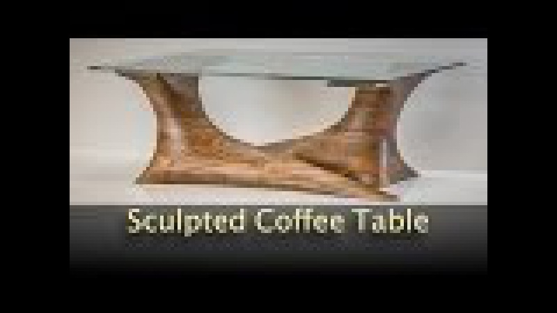 Walnut Sculpted Coffee Table - Build Video by Pedulla Studio