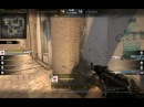 Dez in cs on mirage: clutch 1v3 with ak