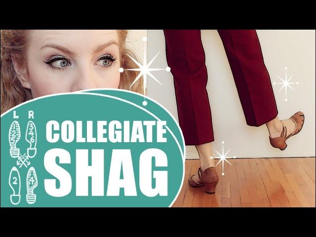 Collegiate Shag Basic - Collegiate Shag Footwork - Where to learn?