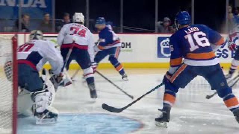 Islanders' Ladd scores after slick feed from De Haan