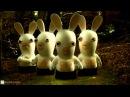 072 Смешной мультик Бешеные кролики Кролики любят фильмы про вампиров