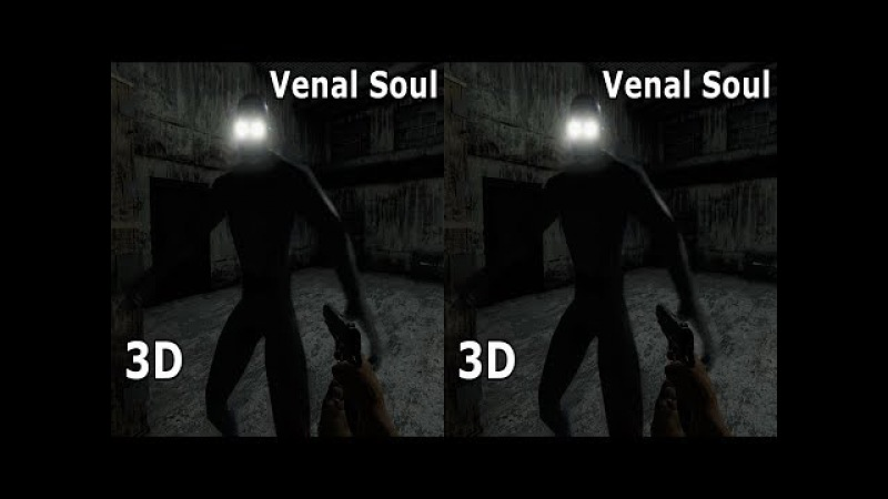 3D TV VR Box horror video Venal Soul Side by Side SBS google cardboard
