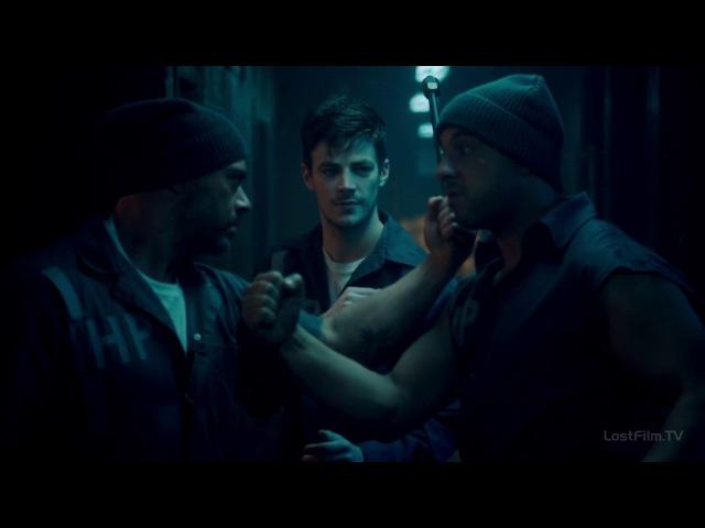 Флэш против заключенных | Barry Allen vs. Inmates
