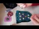 Как вышивать узор из бисера и камей. Как шить и вышивать сумочку с фермуаром.(1час