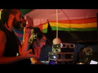 Bass Thali: NZ Selector and Papa Layan @ Freedom Cafe, Arambol, Goa, India 2017