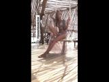 Жозефин на съемках для «Agua Bendita» — 2017, Тулум