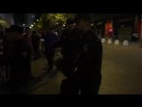 Беспередел в Севилье. Полиция избивает фанатов Спартака