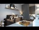 Дизайн однокомнатных квартир площадью от 28 до 30 кв. м