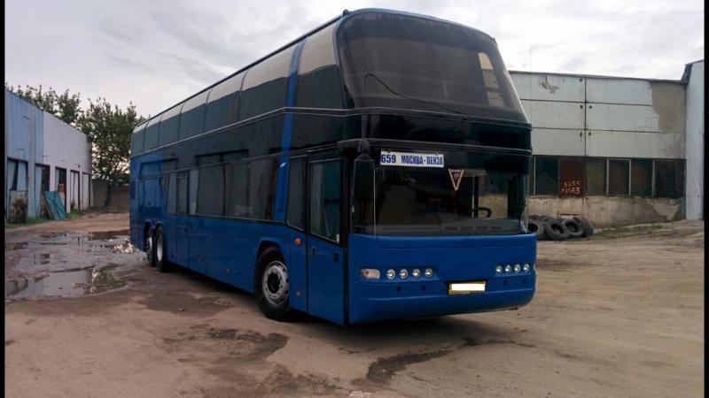 Ремонт автобусов. Neoplan N122-1122 БАС Сервис