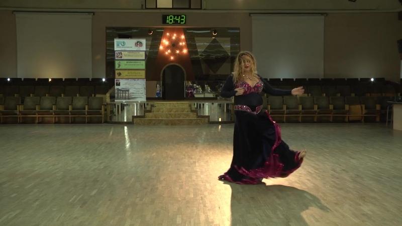 ШВТ Зейнаб Dance Fest 17.03.18.Cиньоры1.Соло.Ориенталь.Начинающие.4 место.Протасова Ольга.