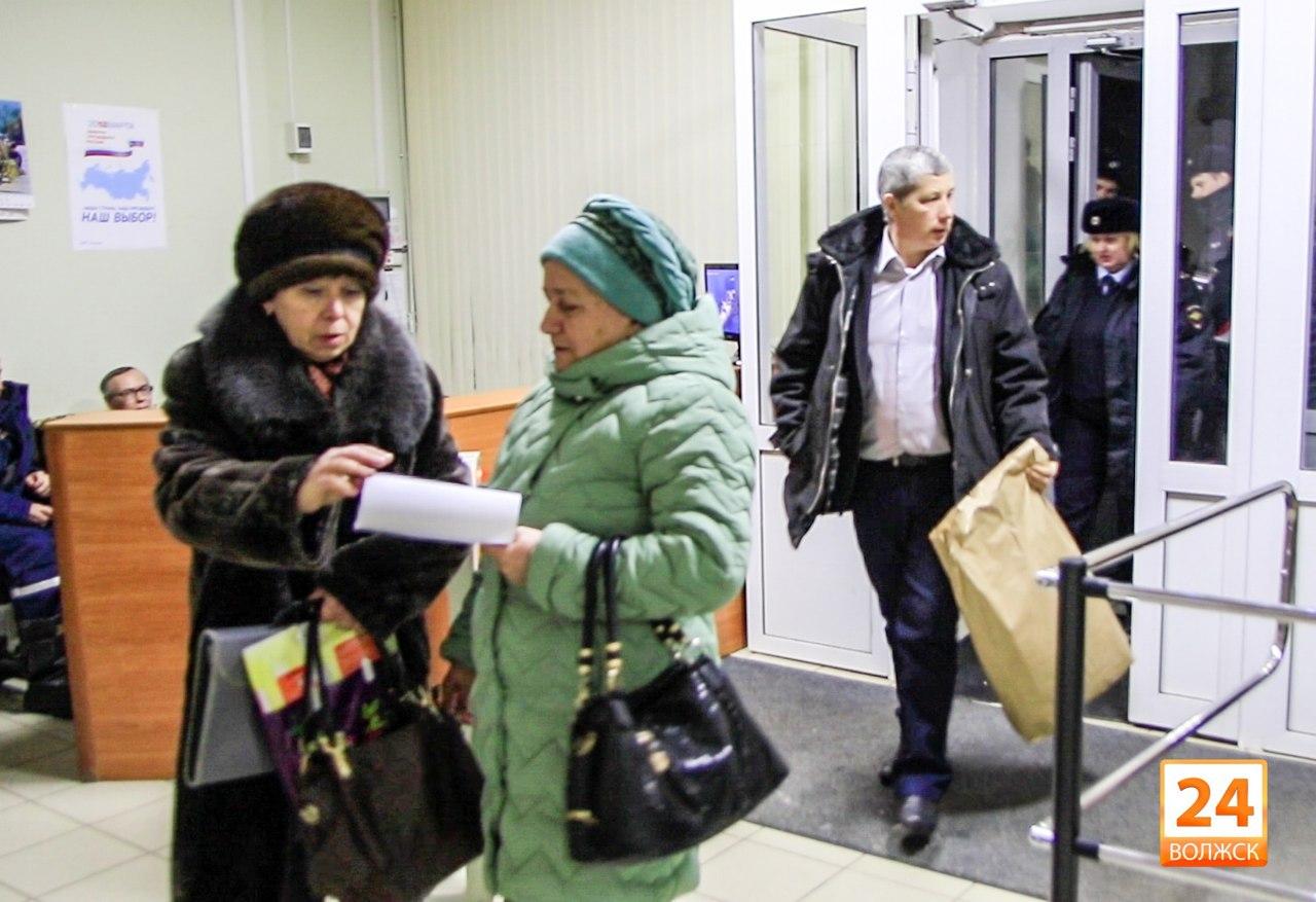Первые итоги выборов президента РФ в Волжске.