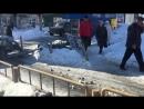 Водитель ВАЗ-2115 снес светофор на 1-й Дачной