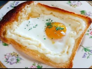 Последнее время популярный тост в Корее - 마약 토스트 (Маяк тосыты)