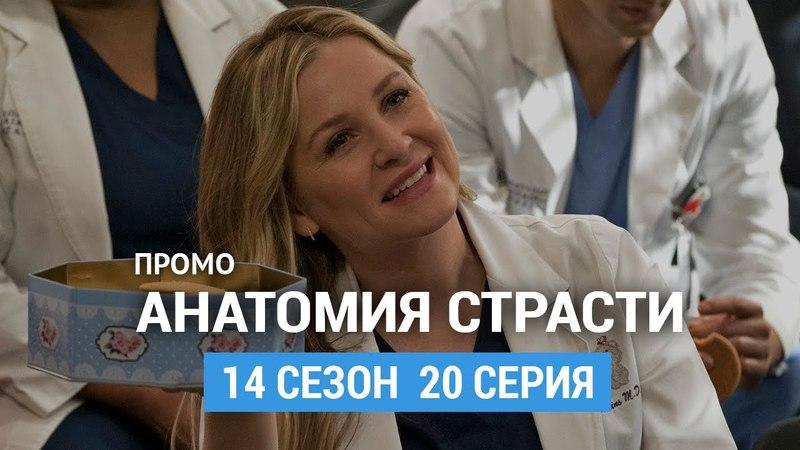 Анатомия страсти 14 сезон 20 серия Промо (Русская Озвучка)