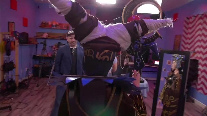 Стелла Чуу рассказывает о создании костюма Риты для Гипер Мощи