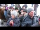 Чернухино.20 февраля,2015.Раздача гум помощи.Рассказы местных жителей о жизни под киевской оккупацией.