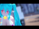【MMD】「LUPIN」 MIKU 【60FPS】 (Test Model) R 18 DAY 15.5